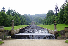 The Cascade at Chatsworth, completed in 1696