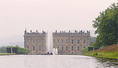 Chatsworth House and Emperor Fountain